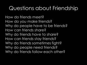 FriendQuestions